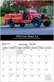 Shift Calendars for Firefighters and EMS